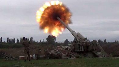 Photo de Renouvellement des combats armés dans la région du Haut-Karabakh