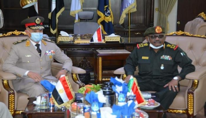 مصر والسودان تجريان مباحثات عسكرية