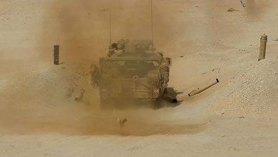 صورة أربع دول عربية تجري مناورات عسكرية في مصر تحت إسم سيف العرب