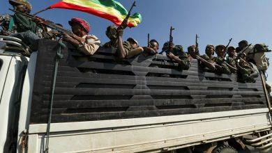 صورة الجيش الإثيوبيسيستخدم الدبابات لحصارعاصمة تيغراي