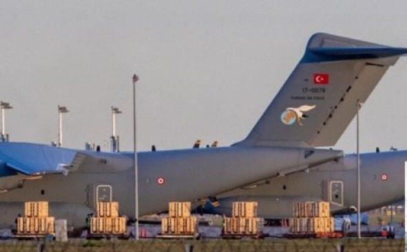 ثلاث طائرات شحن عسكرية تركية تتجه إلى غرب ليبيا
