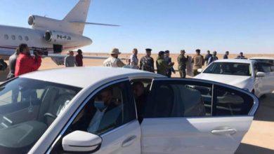 وفد الجيش الليبي إلى غدامس