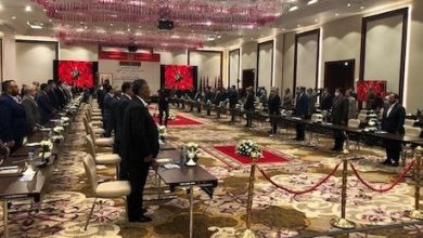 Photo of A Consultative Meeting of Libyan House of Representatives in Morocco