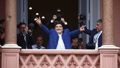 Photo of Argentinian Soccer Legend Diego Maradona Dies At 60