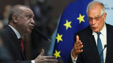 "Photo of Borrell: ""Ankara's Behavior Widening Its Separation"" from the European Union"