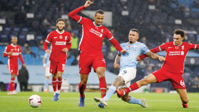 Photo of City, Liverpool share spoils as Kane joins 150 club