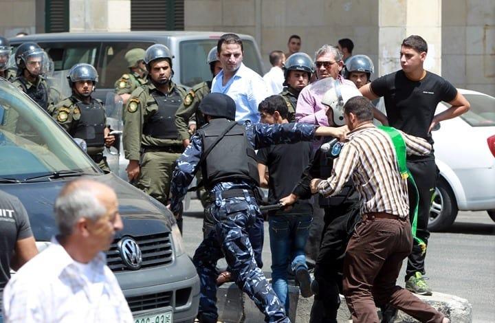 انتهاكات السلطة الفلسطينية لحقوق الإنسان