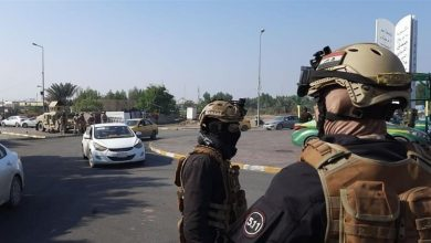 انتشار أمني في مدينة الناصرية العراقية
