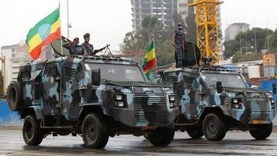 "Photo of Ethiopian army ""fully in control"" of regional capital of Mekelle"