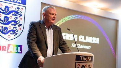 Photo de Le président de la Fédération anglaise de football Greg Clarke a démissionné