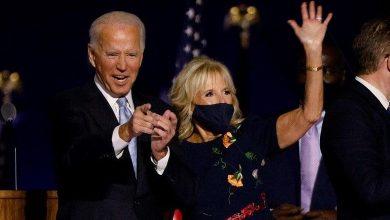 "Photo of Joe Biden pledges to unite America;  ""a time to heal in America"""
