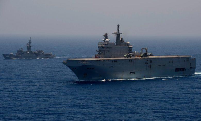 Les forces navales égyptiennes et grecques