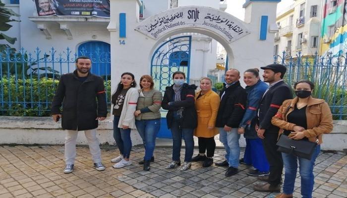 Les journalistes tunisiens