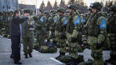 Les soldats de la paix turcs