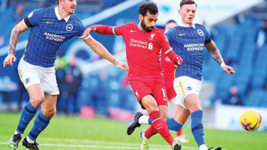 Photo of Liverpool frustrated by VAR as Brighton snatch late equalizer