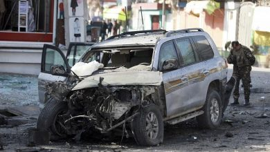Photo of Suicide bomb attack targets Afghan security guards,  At least 34 people were killed