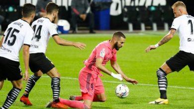 Photo de Valence a battu le Real Madrid 4-1