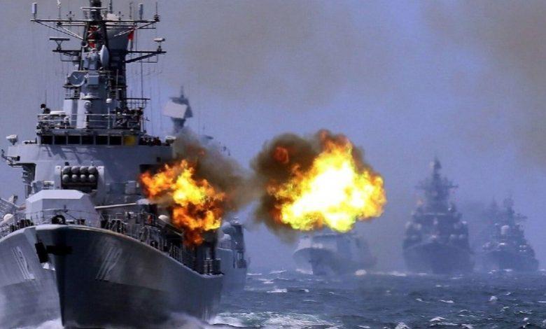مصر مناورات بحرية مع روسيا