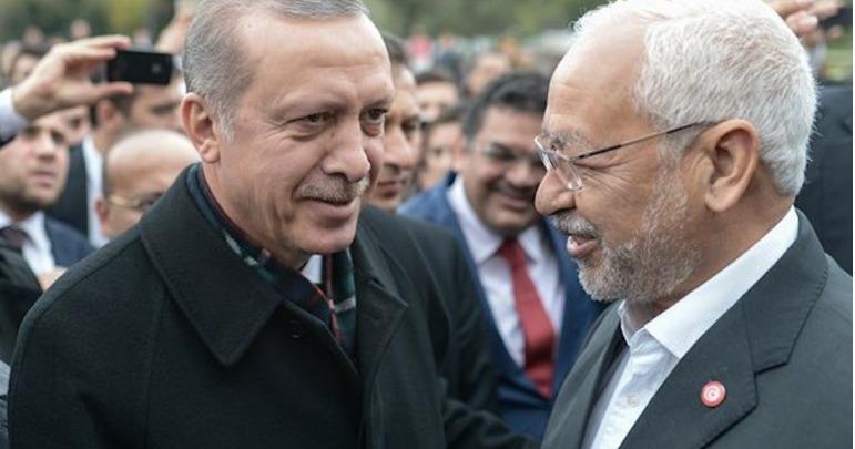 الغنوشي- أردوغان