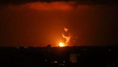 إسرائيل تقصف مواقع فلسطينية في غزة