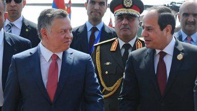 صورة الملك عبد الله الثاني يدعو الرئيس المصري لزيارة الأردن