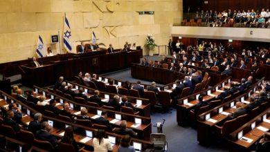 حل الكنيست الإسرائيلي