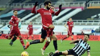 صورة ليفربول يكتفي بالتعادل دون أهداف أمام مضيفه نيوكاسل