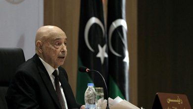 """Photo of Aguila Saleh: """"We have to realize the necessity of fighting mercenaries and it's time for economic and political solution"""