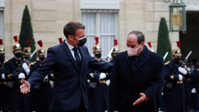 "Photo of Al-Sisi: ""Egypt and France are confronting terrorism and fighting together on several fronts"""