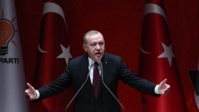 Photo de Erdogan poursuit la voie de la domination et du despotisme