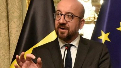 """Photo of European Council President Charles Michel: """"Cat-and-mouse game with Turkish regime must stop"""""""