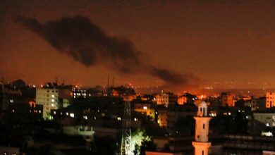 Photo of Israel strikes Palestinian sites in Gaza