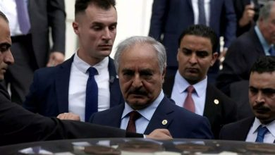 """Photo of Khalifa Haftar to Ankara: """"Either to leave peacefully or to be driven out by force"""""""