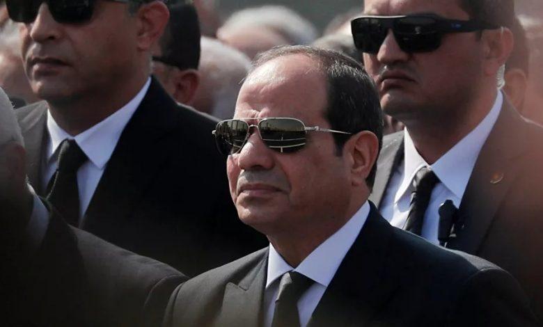 Le président égyptien
