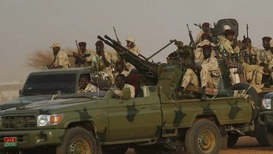 Photo of Sudanese forces preparing for war with Ethiopian forces