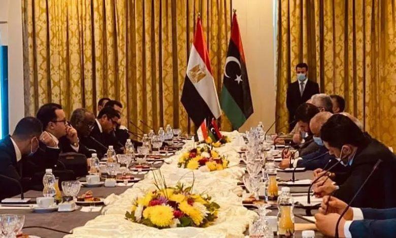 وفد دبلوماسي وأمني مصري