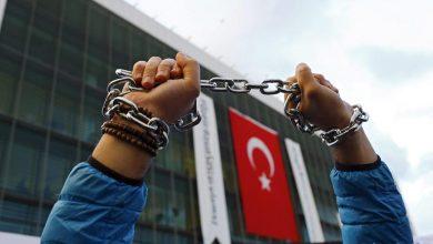 صورة أوضاع كارثية يتعرض لها الصحفيين الأتراك