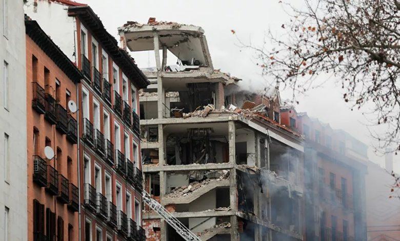 انفجار- اسبانيا