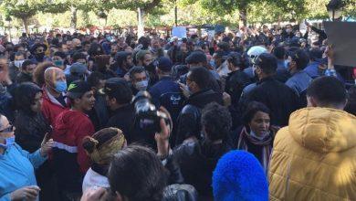 صورة تونس: مظاهرة تدعو لإخراج النهضة من الحكم ومحاسبتها على جرائمها
