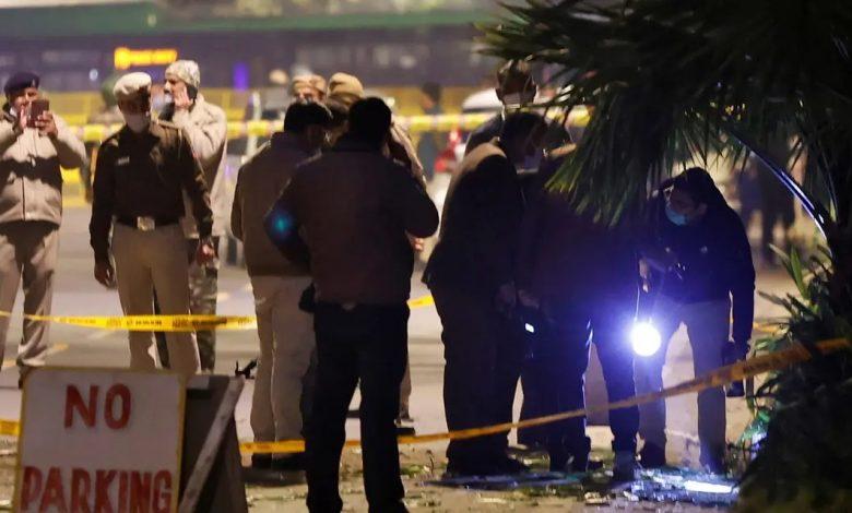 انفجار قرب السفارة الإسرائيلية في الهند