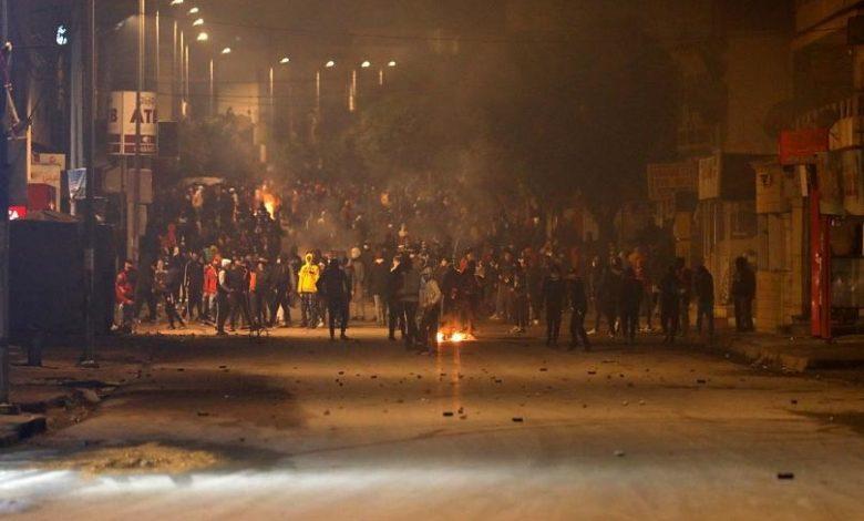 الاحتجاجات التونسية
