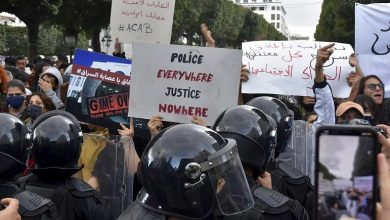 Photo of Clashes break out in Tunisia over protester  death
