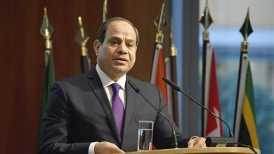 """Photo of El-Sisi: The Egyptian people the main reason for our stability, """"Long Live Egypt,"""""""
