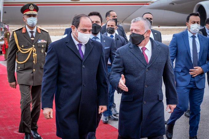 القمة المصرية الأردنية