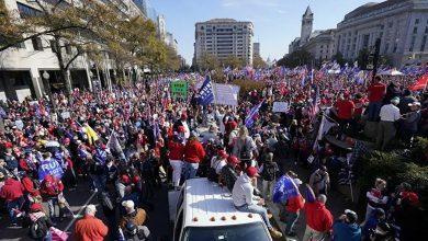 Photo de Les partisans de Trump protestent contre les résultats de la présidentielle