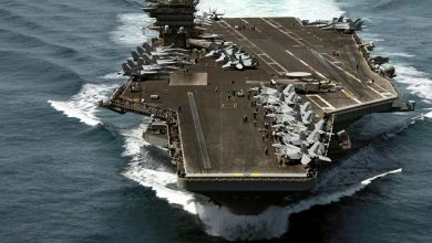 Photo of Pentagon: US aircraft carrier will stay in Gulf