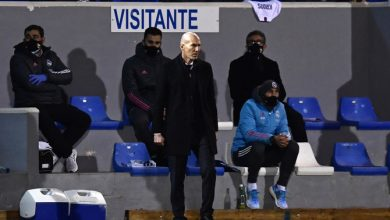 Photo of Real Madrid coach Zidane positive for Covid-19