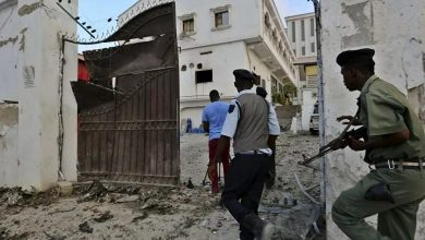 Photo of Suicide bombing near Somali capital, Mogadishu on  a Turkish company