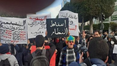 Photo of Tunisia: Demonstration calls to release arrested people in the protests