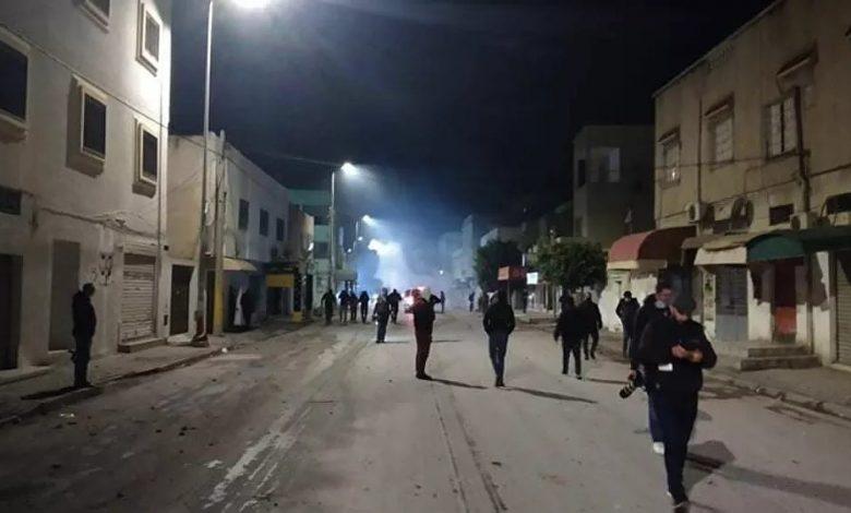 Tunisie des heurts